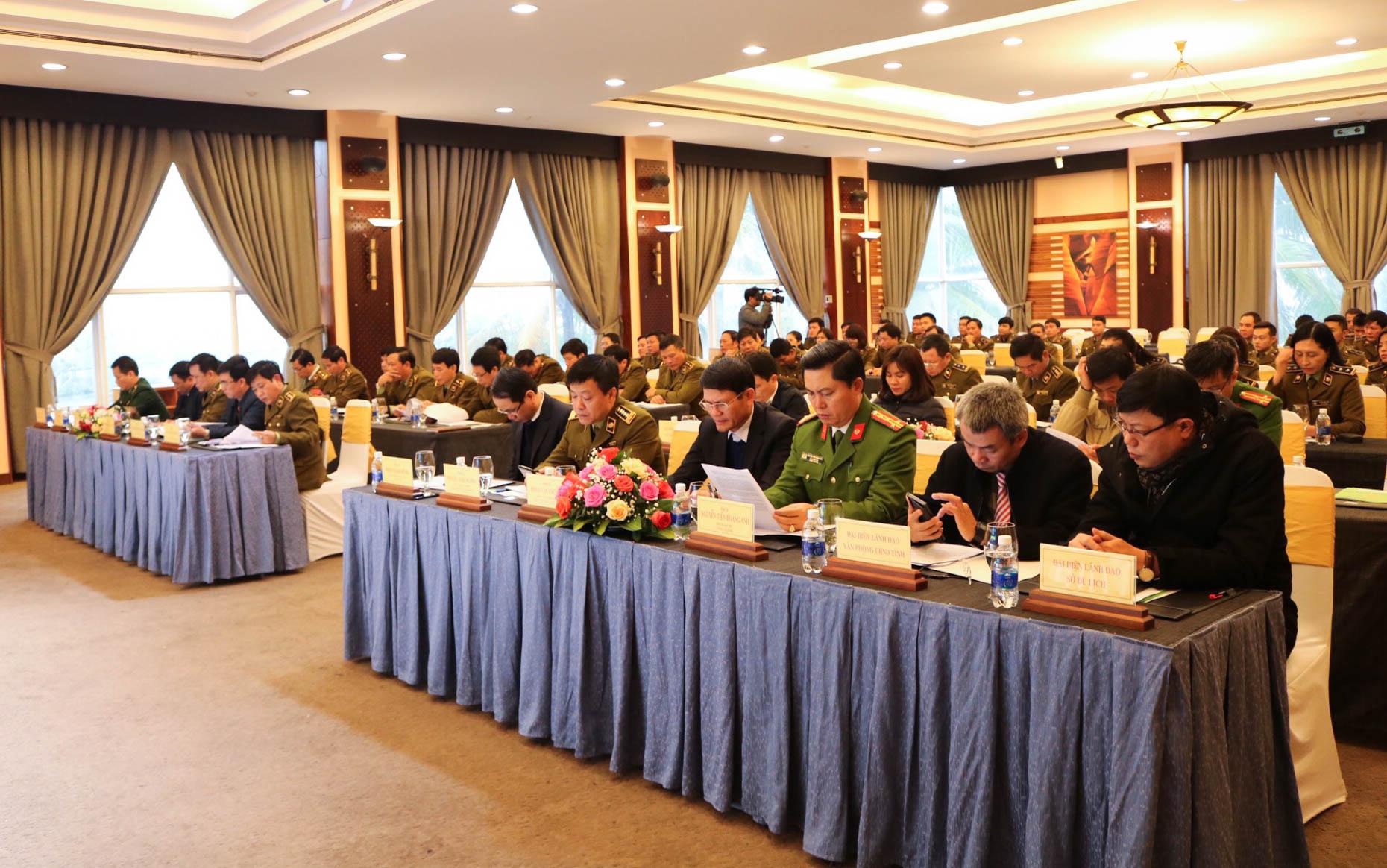 Cục QLTT Quảng Bình tổ chức Hội nghị triển khai công tác quản lý thị trường năm 2021